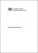 Annual Report for 2014-2015